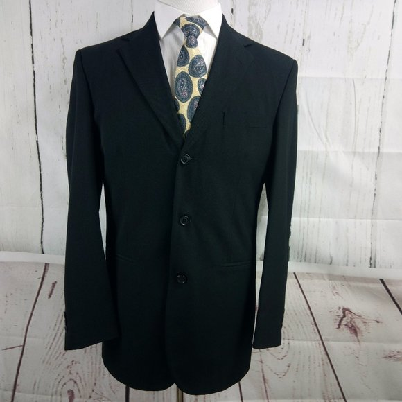 City Streets Other - City Streets Custom Fit Black Suit Blazer Sports C